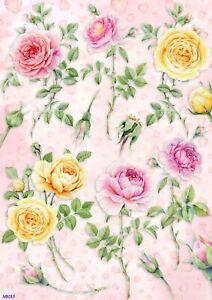 Papier de Riz Decoupage ad254 serviette vintage hiver MAISON PONT DECOUPIS Fournitures