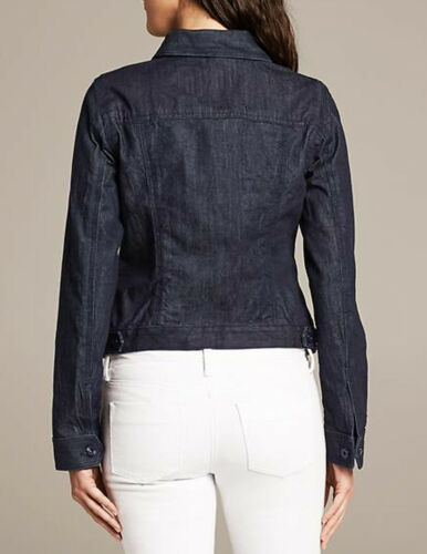 Nwt Women Maat New Jacket Denim Republic Small Banana q8x8OTfp