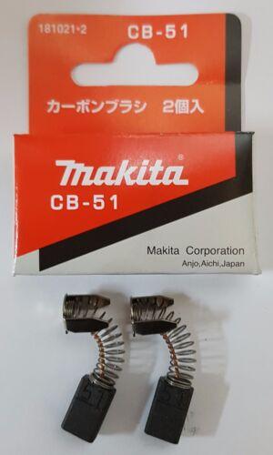 Makita Electric Motor Carbon Brushes CB-51,CB-64,CB-153,CB-203,CB-303,CB-325..