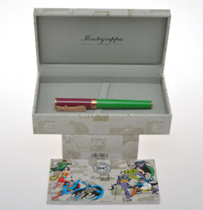 Montegrappa-DC-Comics-Batman-034-Joker-034-roller-pen-new-pristine-in-box