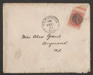 MOTON114-Old-Cover-stamp-margin-Canada-1892