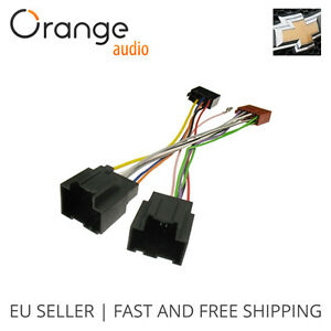 wiring harness adapter for chevrolet spark 2010 iso stereo plug rh ebay com GM Car Stereo Wiring Harnesses 2001 Blazer Radio Wiring