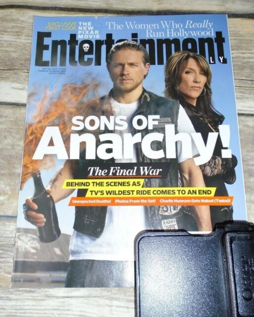 Entertainment Weekly Sons Of Anarchy Charlie Hunnam Oct 10 2014