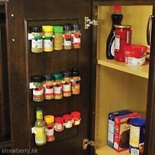 New 4PCS/SET Clip N Store Kitchen Organizer Stick Spice Rack Storage Gripper
