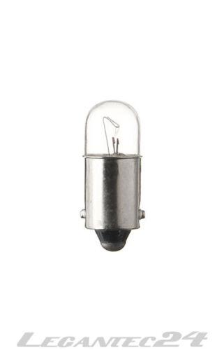 Glühlampe 12V 50mA 0,6W Ba9s 9x23 Glühbirne Lampe Birne 12Volt 50mA 0,6Watt neu