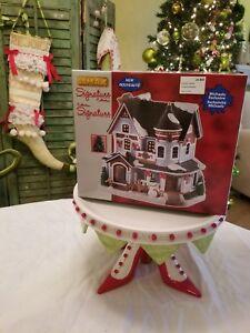 Lemax Christmas Village Michaels.Details About Lemax Christmas Residence Victorian Village House 2018 Michaels Lights