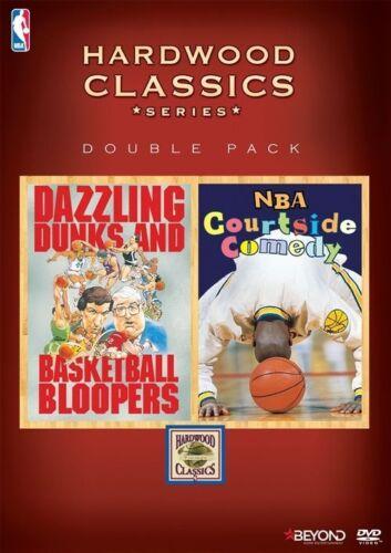 1 of 1 - NBA Hardwood Classics - Dazzling Dunks & Basketball Bloopers (DVD, 2015) Mint Co