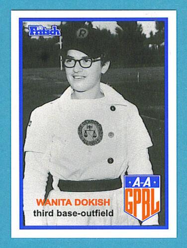 Fritsch AAGPBL Baseball Singles #54 Wanita Dokish
