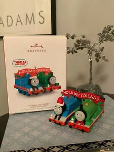 Hallmark-Keepsake-Christmas-Ornament-Thomas-the-Tank-and-Percy-Friends-NEW-MINT