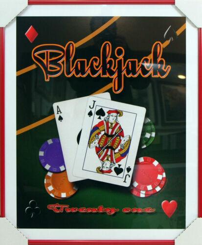 Poker Game Room /& Bar ArtworkProfessionally Framed Art