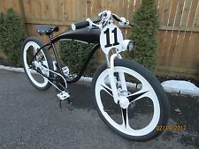 Original Skyhawk Motorized Bicycle Frame w/ Disc Brakes Gas Tank Board Tracker