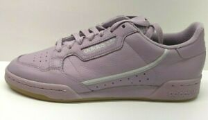 Adidas-Size-10-5-Purple-Leather-Sneakers-New-Womens-Shoes