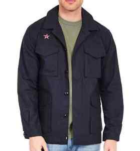 1477c56af5a Details about JACKET EDWIN MAN CORPORAL SOUVENIR JACKET (navy washed) SIZE  XL VAL