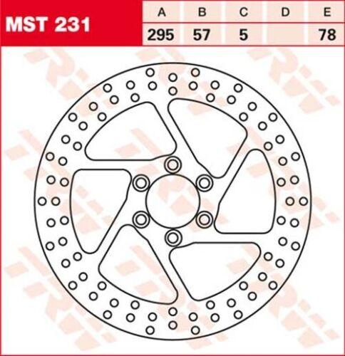Disque de frein suzuki vs800 GL Intruder vs52b Bj 1992 TRW Lucas mst231