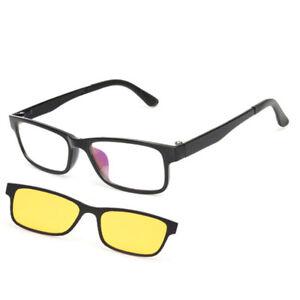 Mujeres Imán Sol Con Gafas De Le Hombres Polarizadas Clip Visión H92IED