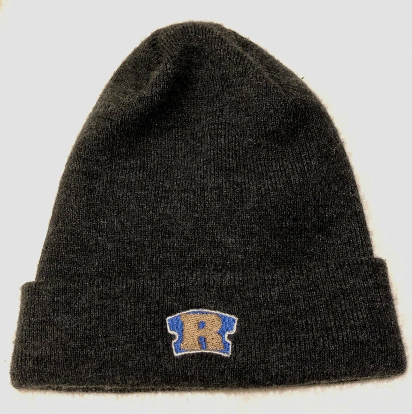 1999 RAWKUS RECORDS razor blade logo promo beanie hat cap vtg 90s rap shirt