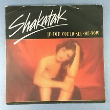 Shakatak - If You Could See Me Now / Fly The Wind - Polydor POSP-635 Ex