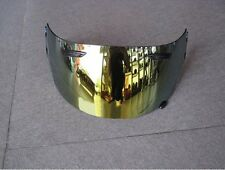 GOLD IRIDIUM VISOR FITS ARAI RR5 I-TYPE RX7-GP Chaser-V Axces 2 Helmet