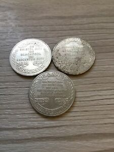 COLLECTION-OF-VINTAGE-FA-CUP-CENTENARY-COIN-TOKENS-1872-1972