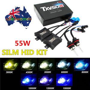 55W-HID-Aenon-Bulbs-Headlight-Slim-Ballast-Conversion-Kit-H1-H3-H4-H7-9005-L-ix
