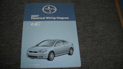 2007 Scion Tc Electrical Wiring Diagram Troubleshooting