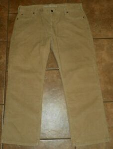 Hombre Dockers D3 Pantalones De Pana Marron Frente Plano Tamano 38 X 29 Classic Fit Ebay