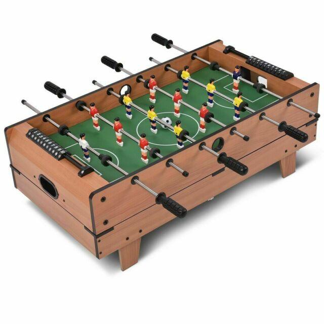 Family Sport Table 4-In-1 Multi Combo Game Foosball Soccer Billiard Pool Hockey