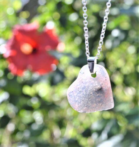 Frozen Heart Small: Epoxy Resin Copper Elite Shungite Pendant Orgonite