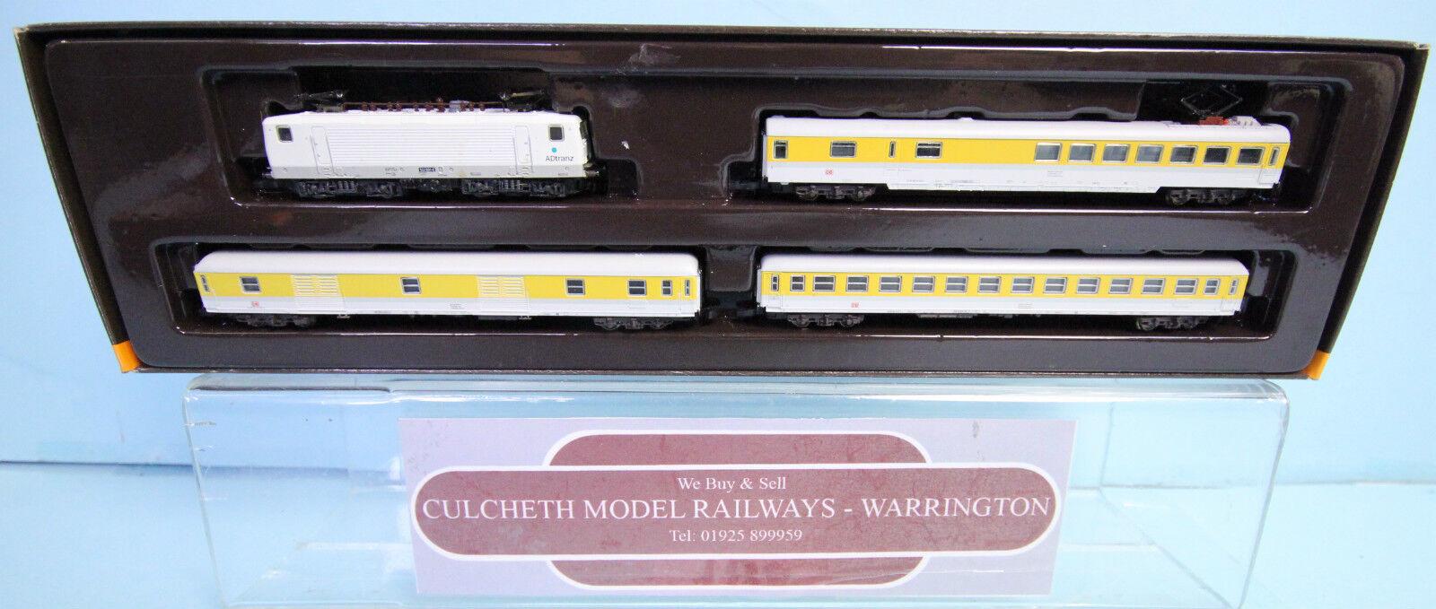 MARKLIN 'Z' GAUGE 81424 SWISS 'ADtranz' MEASUREUomoT TRAIN SET BOXED  108W
