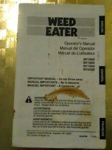 Weed eater leaf blower vacuum manual gallery.