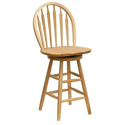 Counter Stool Swivel Chair Dining Bar Pub Seat Barstools Wooden High Chair 731234398136 Ebay