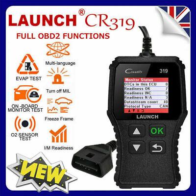 OBD OBD2 SCANNER FAULT CODE READER READER DIAGNOSTIC UK Fits Ford Focus 01