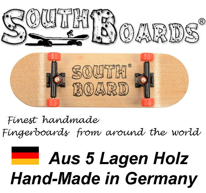Komplett Holz RT Fingerskateboard N SWZ RT Holz SOUTHBOARDS® Handmade Wood Fingerboard 87ac46