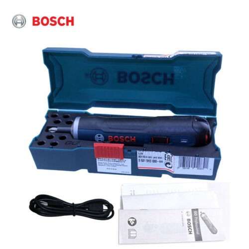 Bosch GO Lithium Screw 3.6V Mini Electric Screwdriver Rechargeable Tool Drill