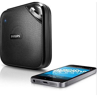 Philips BT2500B/37 Wireless Portable Bluetooth Speaker with Mic