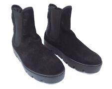 Napapijri señora botines botas zapatos Jenny negro de cuero GR 37 nuevo #36