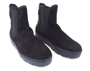 DéVoué Napapijri Femmes Bottines Bottes Chaussures Jenny En Cuir Noir T 41 Neuf #36-afficher Le Titre D'origine Marchandises De Proximité