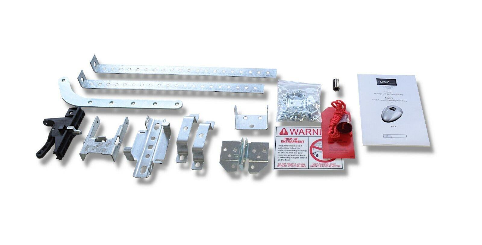 Garagentorantrieb mit Schiene und zwei Handsender Torantriebe Garagentormotor