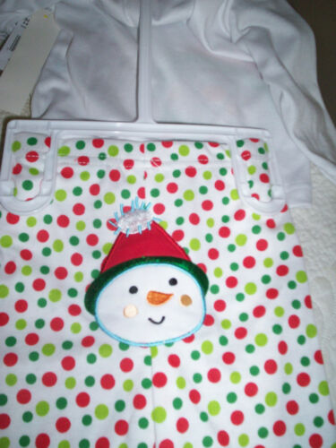 New Just Chillin Baby Holiday Outfit Snowman Polka dots