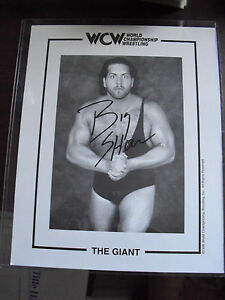 WWF-WWE-Wrestling-Superstar-The-Giant-Big-Show-Signed-8x10-Photograph-LOOK
