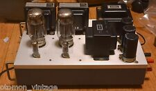 Stereo KT-88 SE tube amplifier with all Hirata TANGO transformer * VG++