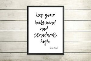 CoCo Chanel Prints -Chanel Quote Print  Home Decor Wall Living Room