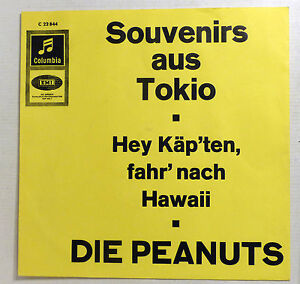 COVER-ONLY-DIE-PEANUTS-034-Souvenirs-aus-Tokio-034-Top-Zustand-INFO-PS-Columbia-60s