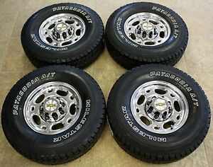 New Set 4 Polished 16 Quot 2001 2010 Chevy Silverado 2500 3500