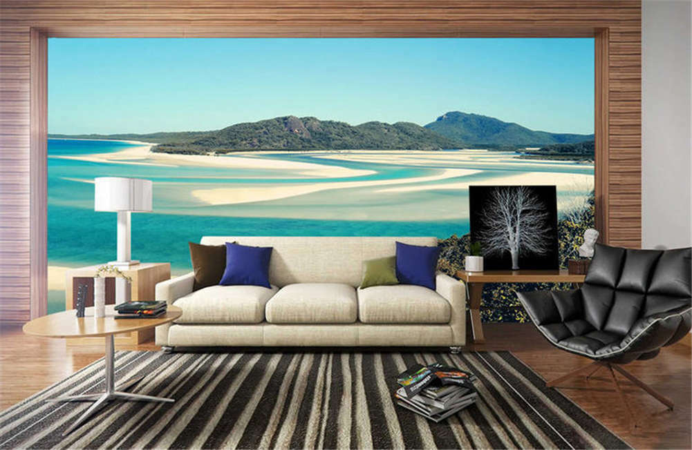 Fussy Relaxing Water 3D Full Wall Mural Photo Wallpaper Printing Home Kids Decor