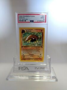PSA-9-MINT-Kabuto-1st-Edition-Pokemon-Fossil-Pokemon-50