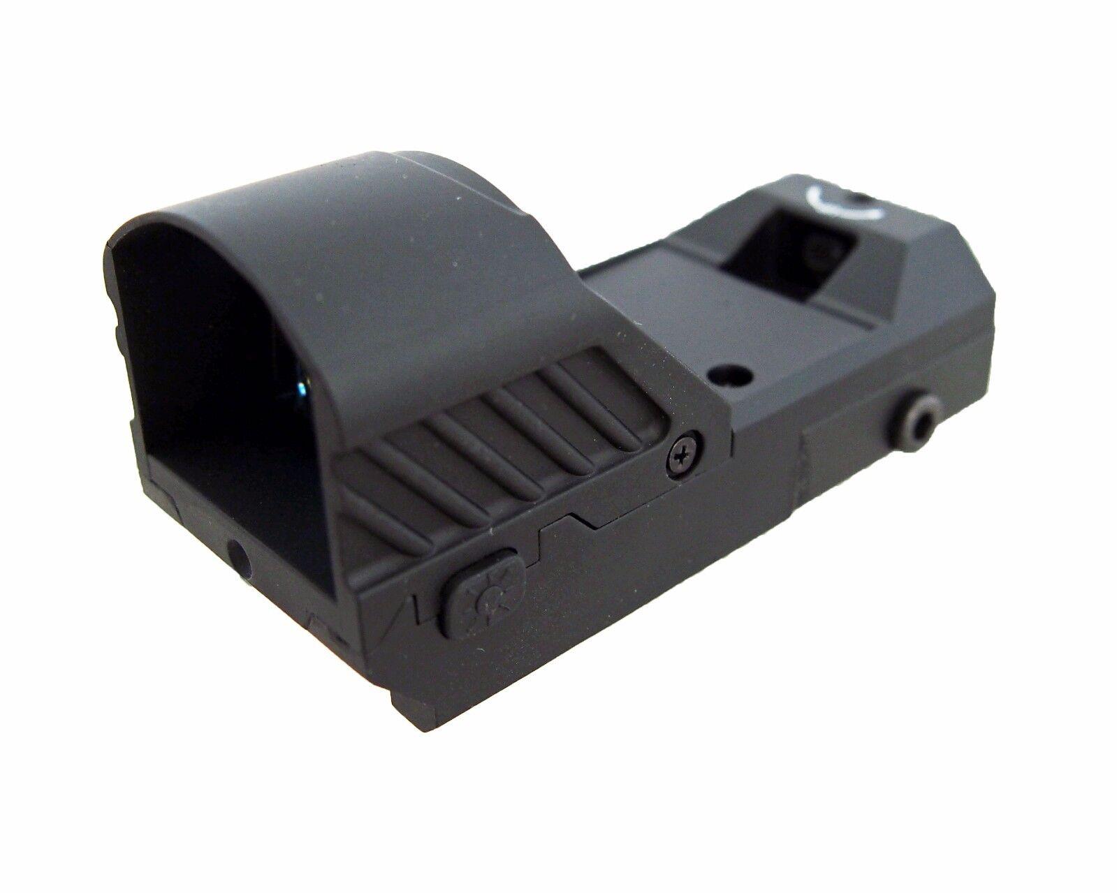 DLP Tactical Push Button Adjustable Brightness Miniature ROT Dot Sight