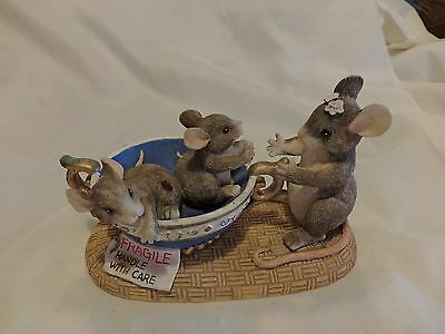 Charming Tails Fragile Handle with Care 89/601 FITZ & FLOYD DEAN GRIFF (G)