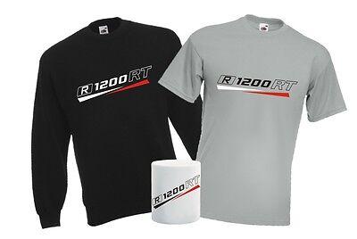 R1200RT 3er Geschenk Set SWEATSHIRT + T-SHIRT + TASSE für Motorrad Biker Fan MUG