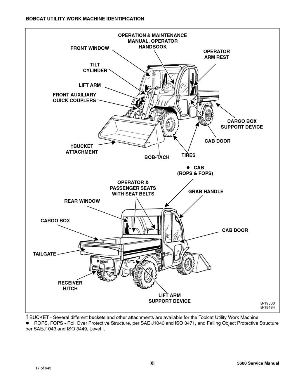 Bobcat Tool Cat Manual Toshiba Wiring Diagrams 50hm66 Television Array Toolcat 5600 Utility Vehicle Repair Service 6902819 Ebay Rh